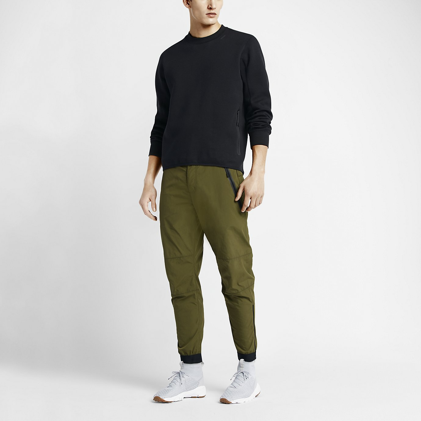 NikeLab Tech Fleece Crew